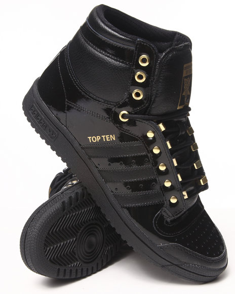 Adidas Black Top Ten Cities Pack Sneakers
