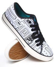 The Skate Shop - Valenzuela Low Geo-Print Sneakers