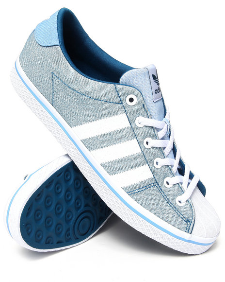 Adidas - Women Blue Vulc Star Lo Ef W Sneakers