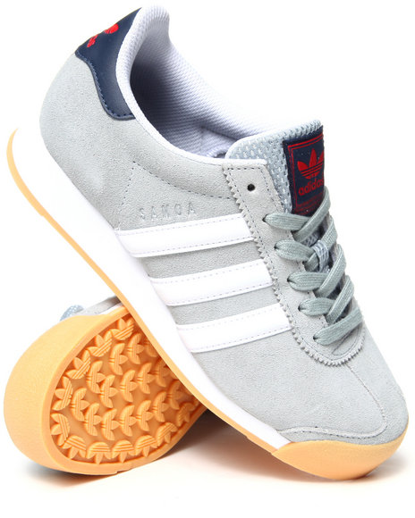 Adidas - Boys Silver Samoa Yankees Sneakers