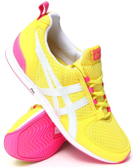 Asics - Women Yellow Ult Racer Sneakers
