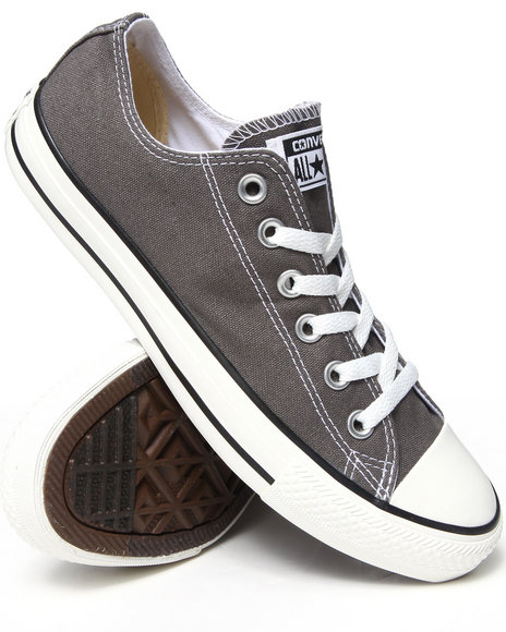 Converse - Women Charcoal Chuck Taylor All Star Core Ox Sneakers