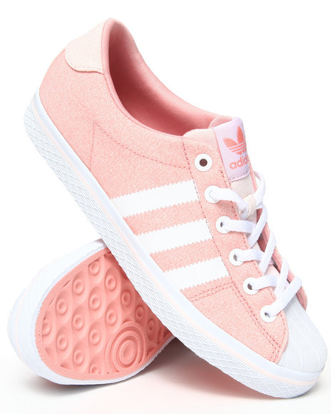 Adidas Pink Vulc Star Lo Ef W Sneakers