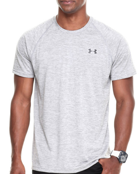 Under Armour Grey Embossed Tech Tee