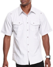 Basic Essentials - Embroidered Short Sleeve Woven Shirt