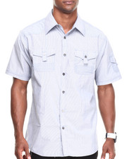 Basic Essentials - Solid Woven Shirt