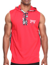 Men - Chicago Bulls Dino Hooded Muscle Pullover