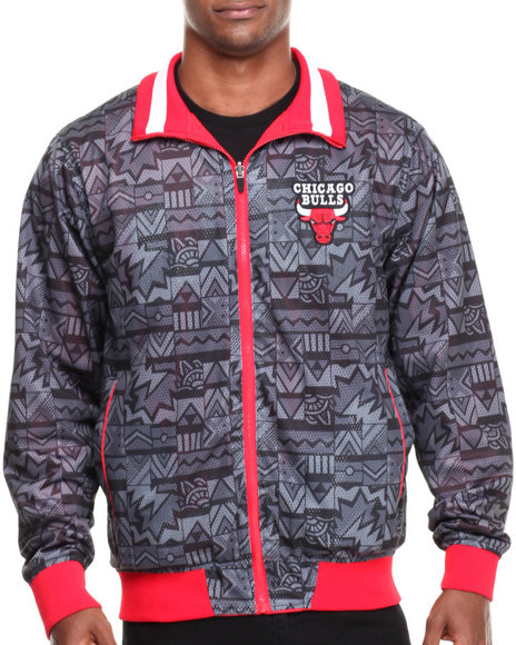 Nba, Mlb, Nfl Gear - Men Multi Chicago Bulls Carter Reversible Jacket