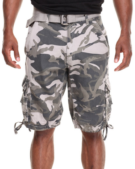 Basic Essentials - Men Camo Camo Shorts