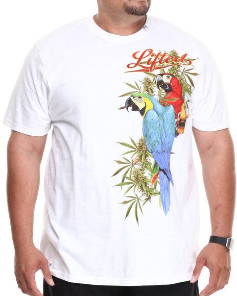Lrg - Men White Drunk Birds S/S Tee (B&T)
