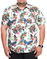LRG - Hawaiian Safari S/S Button-Down (B&T)