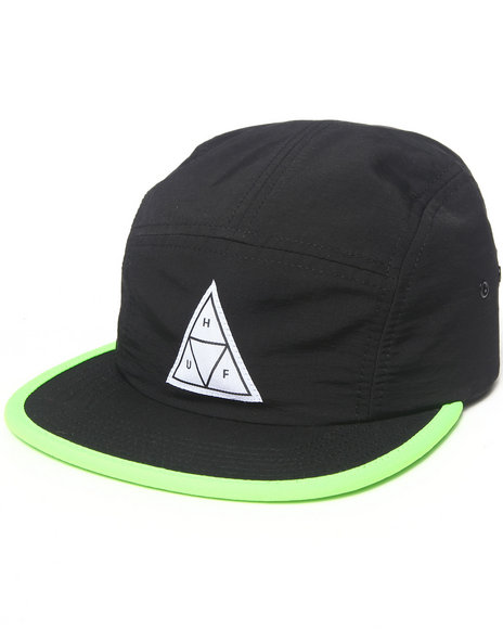 Huf Scout Volley 5-Panel Cap Black