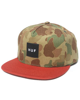 HUF - Japanese Camo Snapback Cap
