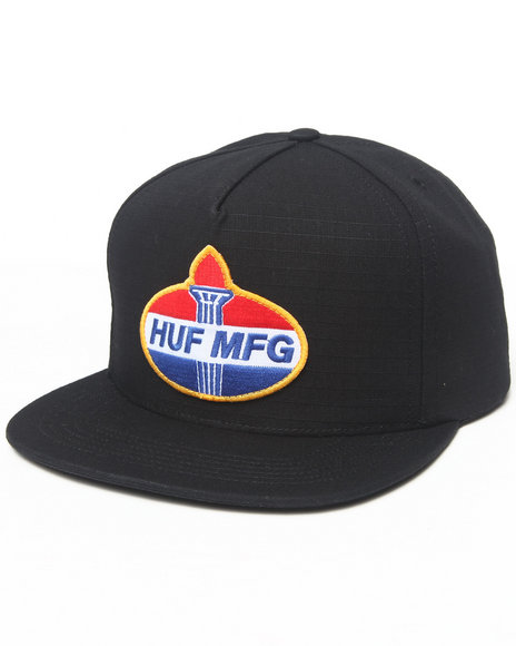 Huf Hector Snapback Cap Black
