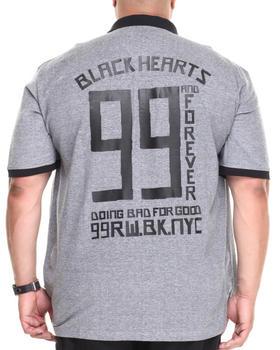 Rocawear - Black Hearts 99 Polo (B&T)
