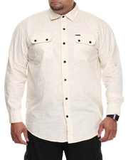 Men - Speckled L/S Button-down (B&T)