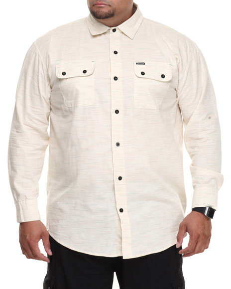 Rocawear - Speckled L/S Button-down (B&T)