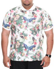LRG - Hawaiian Safari S/S Polo (B&T)