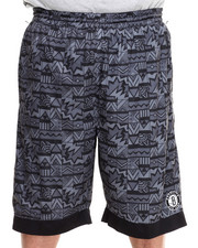 Men - Brooklyn Nets Joseph Aztec Drawstring Short (B&T)