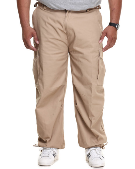 Basic Essentials - Men Khaki Cargo Pants (B&T)