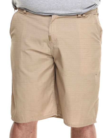 LRG - Men Khaki Brighter Side True-Straight Walk Shorts (B & T)