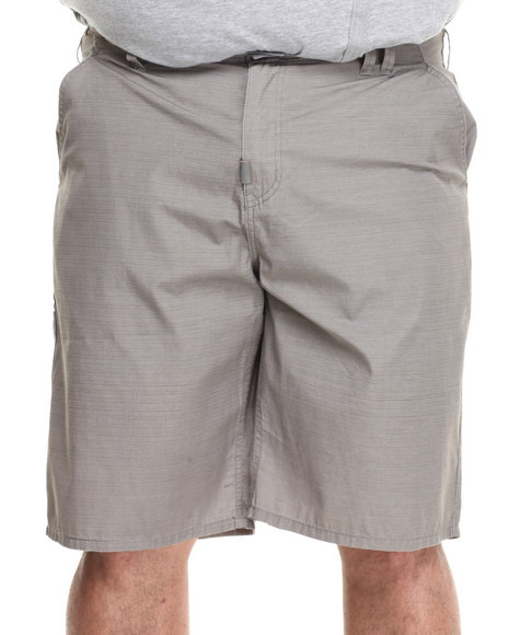 LRG - Men Grey Brighter Side True-Straight Walk Shorts (B & T)