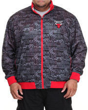 NBA, MLB, NFL Gear - Chicago Bulls Carter Reversible Jacket (B&T)
