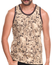 Men - Snake All Over Animal Print Tank top