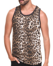 Men - All Over Animal Print Tank top