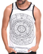Buyers Picks - Large Aztec Print Tank Top