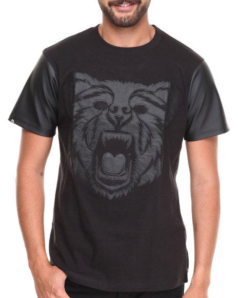 Buyers Picks - Men Black Bear Face S/S Tee