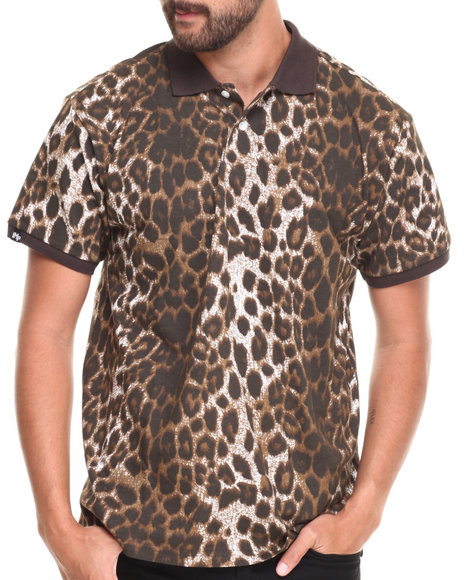 Buyers Picks Animal Print Polos