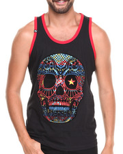 Buyers Picks - Neon Skull Tank Top
