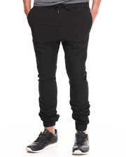 Jeans & Pants - Cotton Twill Jogger Pant (Elastic cuff detail)