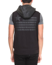 Men - America's Full zip sleeveless hoody