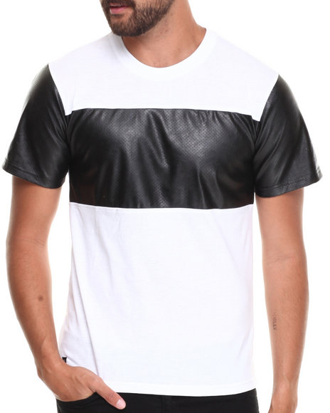 Enyce - Men White Zach Pu T-Shirt - $16.99