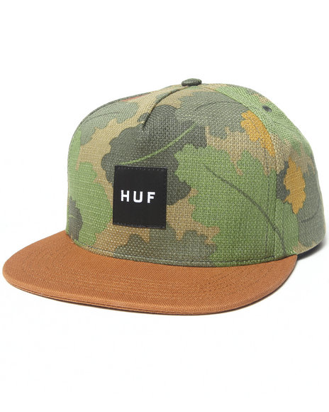 Huf Men Japanese Camo Snapback Cap Camo - $31.99