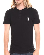 The Skate Shop - Classic H Henley Tee