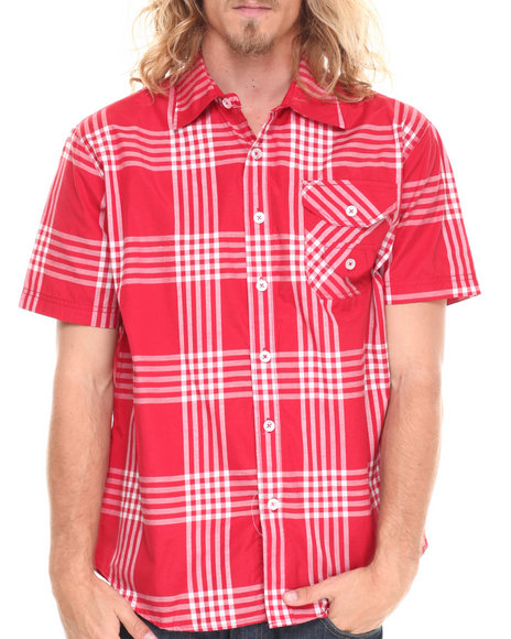 Enyce Red George S/S Button-Down