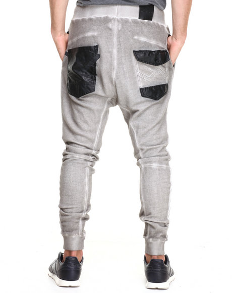 Two Angle Clothing Grey Yarwell Sweatpants