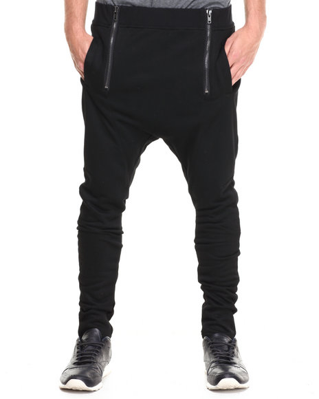 Black Kaviar Black Garance Drop Crotch Sweatpants