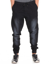 Basic Essentials - Twill Jogger pant (elastic trim & draw string)