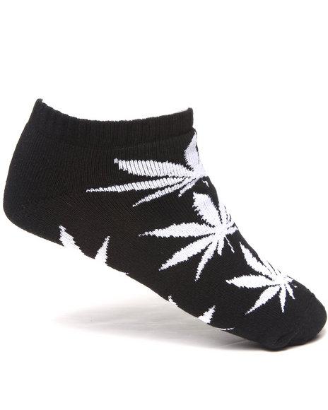 Huf Plantlife Ankle Socks Black