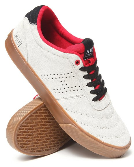 HUF Off White Galaxy Suede/Neoprene Sneakers