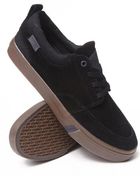 HUF Black Ramondetta Pro Suede/Canvas Sneakers