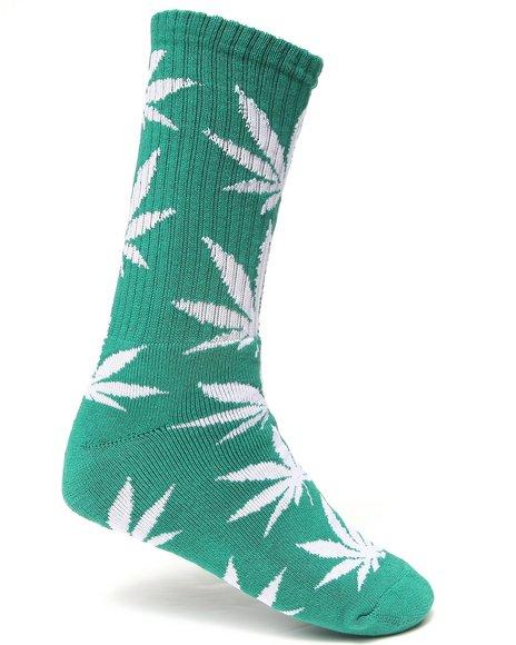 Huf Men N.Y. Team Pack Plantlife Crew Socks Green