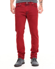Nudie Jeans - Tape Ted Organic Red Over Blue Jeans