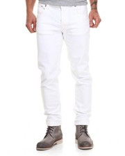 Nudie Jeans - Grim Tim Organic White Noice Jeans