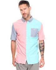 Men - Rusden Block S/S Button-down