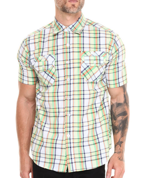 Enyce Green Oliver S/S Button-Down